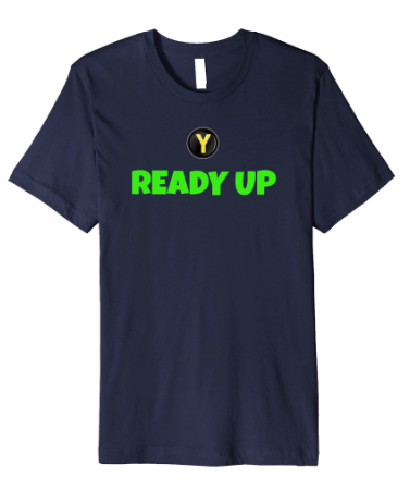 ready up shirt for gamers