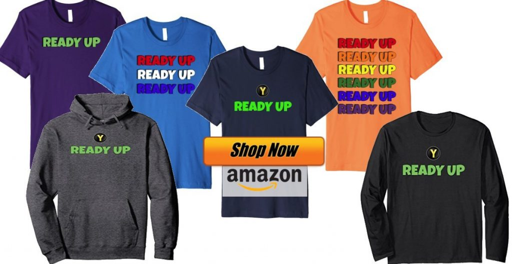 shop ready up shirts for gamers
