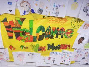 kids wax museum drawings