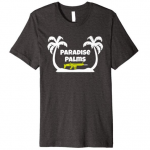 Epic paradise palms tshirt with scar gun