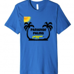 sun palms and a scar gun fortnite tshirt paradise palms location